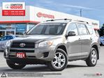 2011 Toyota RAV4 Base Competition Certified, One Owner, No Accidents, Toyota Serviced in London, Ontario