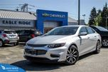 2016 Chevrolet Malibu 1LT 18 inch wheels & backup camera in Coquitlam, British Columbia