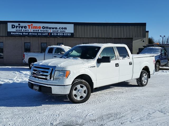2009 ford f 150 xlt crew cab ottawa ontario used car. Black Bedroom Furniture Sets. Home Design Ideas