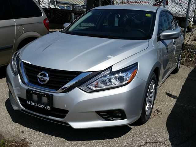 2016 nissan altima 2 5 s silver sherway nissan new car. Black Bedroom Furniture Sets. Home Design Ideas