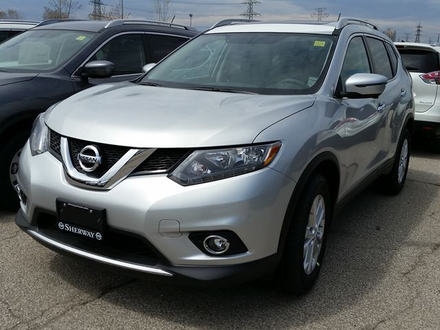 2016 nissan rogue sv awd silver sherway nissan new car. Black Bedroom Furniture Sets. Home Design Ideas