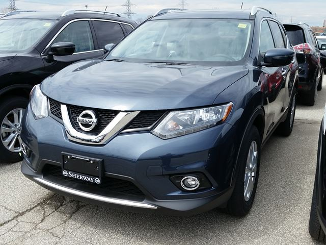 2016 nissan rogue sv awd blue sherway nissan new car. Black Bedroom Furniture Sets. Home Design Ideas