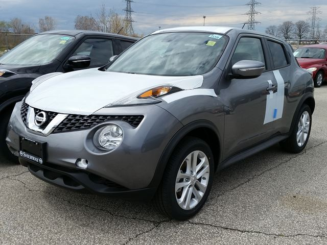 2016 nissan juke sv awd grey sherway nissan new car. Black Bedroom Furniture Sets. Home Design Ideas