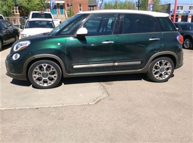 2014 fiat 500l trekking edmonton alberta used car for. Black Bedroom Furniture Sets. Home Design Ideas