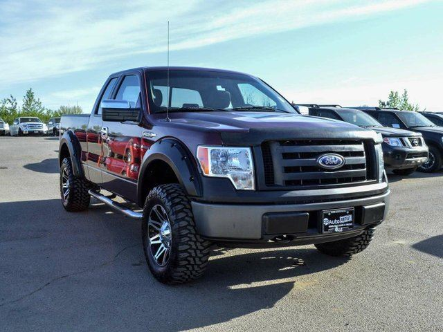 2009 ford f 150 xl 4x4 super cab styleside red go auto. Black Bedroom Furniture Sets. Home Design Ideas