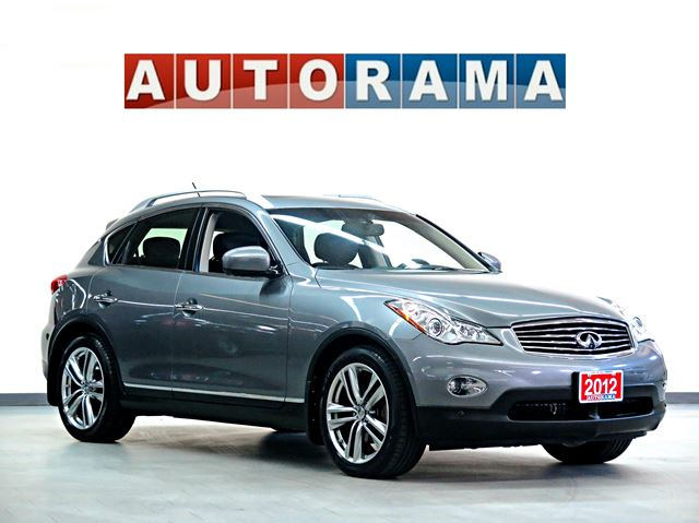 2012 infiniti ex35 360 back up cam navigation leather sunroof awd grey autorama. Black Bedroom Furniture Sets. Home Design Ideas