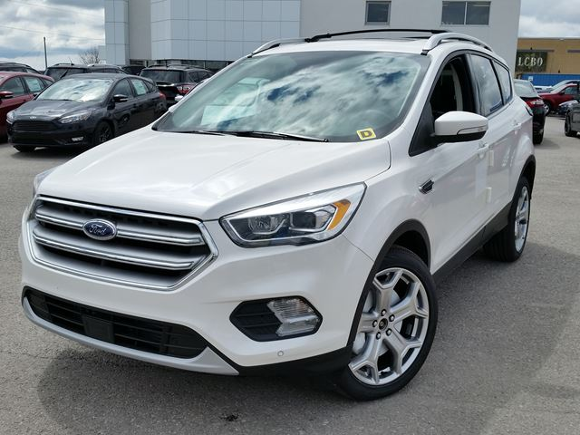 2017 ford escape titanium white taylor ford new car. Black Bedroom Furniture Sets. Home Design Ideas