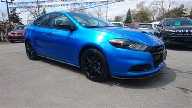 2016 dodge dart brand new gt leather roof blue glenleven chrysler. Black Bedroom Furniture Sets. Home Design Ideas