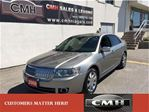 2008 Lincoln MKZ AWD LEATHER SUNROOF NAVI. *CERTIFIED* in St Catharines, Ontario