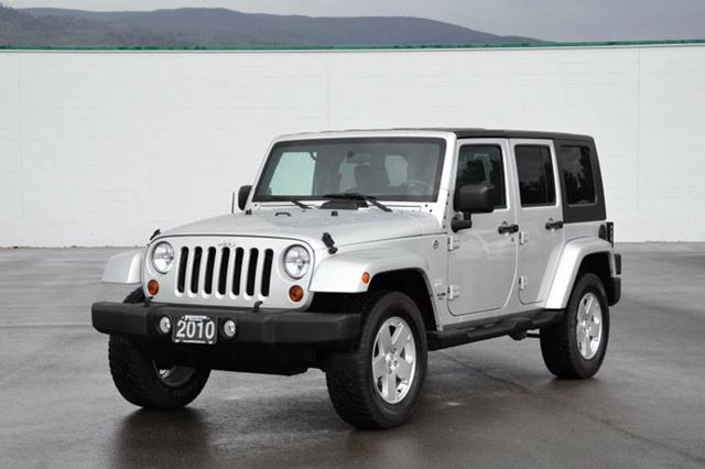 2010 jeep wrangler unlimited sahara unlimted silver penticton honda. Cars Review. Best American Auto & Cars Review