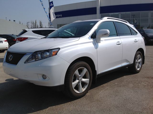 2012 lexus rx 350 winnipeg manitoba car for sale 2476271. Black Bedroom Furniture Sets. Home Design Ideas