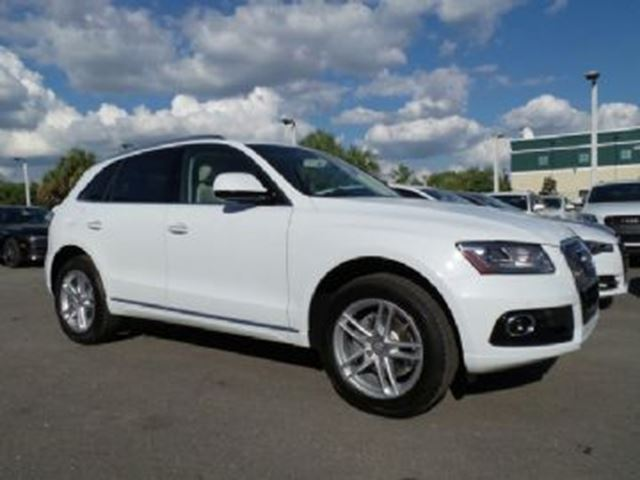 2016 Audi Q5 White | LEASE BUSTERS | Wheels.ca