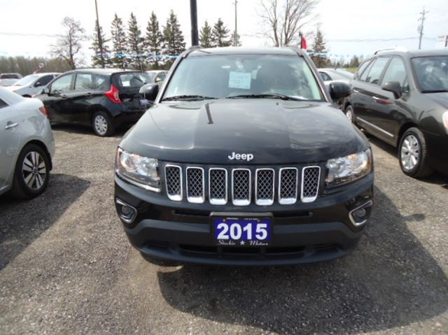 2015 jeep compass black stockie motors. Black Bedroom Furniture Sets. Home Design Ideas