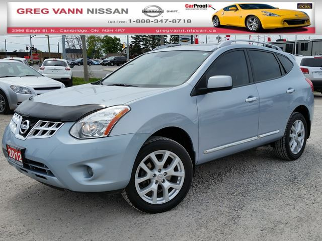2012 nissan rogue sv awd silver greg vann nissan. Black Bedroom Furniture Sets. Home Design Ideas