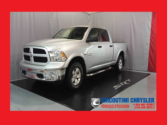 2015 Dodge RAM 1500 Outdoorsman Crew Cab boite 6,4 4x4 in Chicoutimi, Quebec