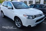 2014 Mitsubishi Outlander 4WD 4dr GT 3.0L NO ACCIDENTSONE OWNER in Vancouver, British Columbia