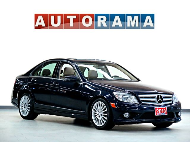 2010 mercedes benz c class c250 4matic awd leather sunroof for 2010 mercedes benz c250