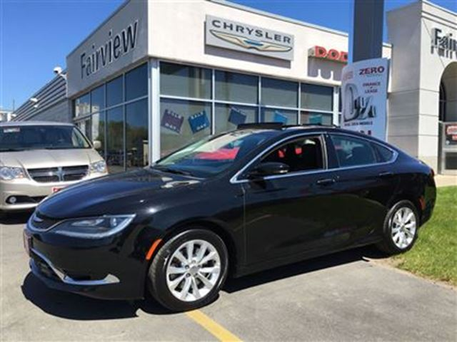 2015 Chrysler 200 C Navi Leather Pan Roof 6 To Choose