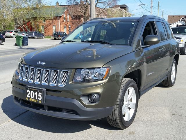 2015 jeep compass north green manley motors limited. Black Bedroom Furniture Sets. Home Design Ideas