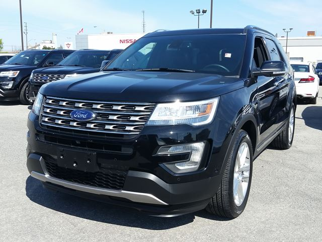 2016 ford explorer limited scarborough ontario used car for sale 2479605. Black Bedroom Furniture Sets. Home Design Ideas