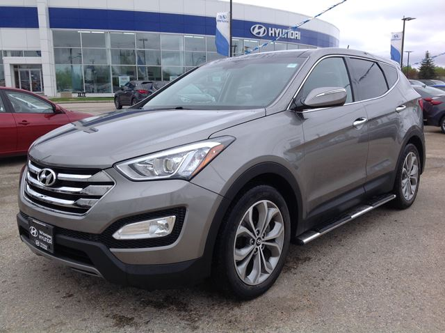 new used hyundai santa fe for sale in winnipeg autos post. Black Bedroom Furniture Sets. Home Design Ideas