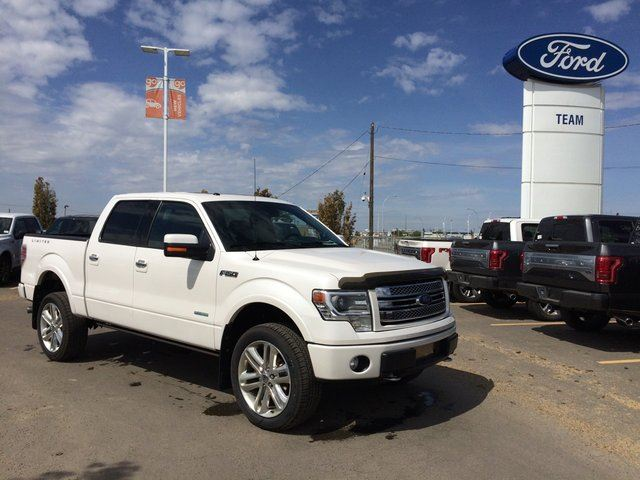2014 ford f 150 limited 4x4 supercrew cab 5 5 ft box 145 in wb white team ford. Black Bedroom Furniture Sets. Home Design Ideas