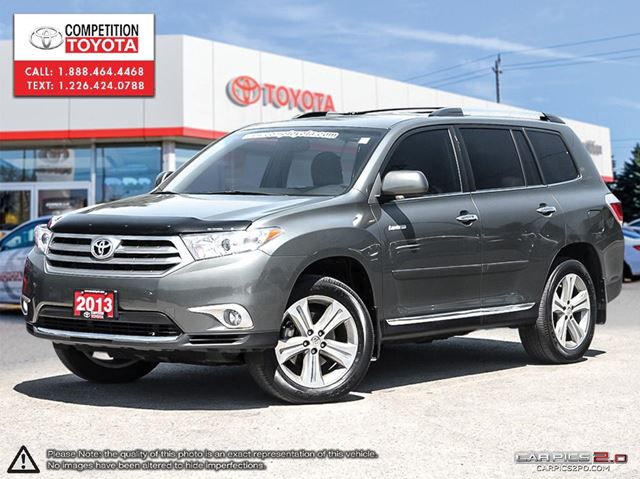 2013 toyota highlander v6 limited competition certified one owner no accidents toyot green. Black Bedroom Furniture Sets. Home Design Ideas