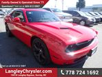 2015 Dodge Challenger SXT W/LEATHER INT, SUNROOF & NAVIGATION in Surrey, British Columbia