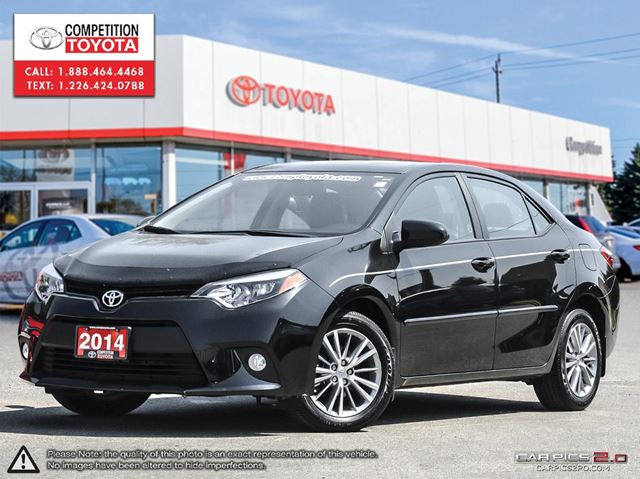 2014 toyota corolla le toyota certified one owner no accidents toyota serv black. Black Bedroom Furniture Sets. Home Design Ideas