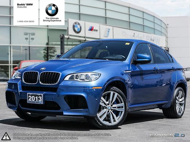 2013 bmw x6 m blue budds bmw oakville. Black Bedroom Furniture Sets. Home Design Ideas