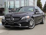2015 Mercedes-Benz C-Class DEMO | C400 4MATIC | Premium Package | Sport Package | Climate Comfort Front Seats | AMG Leather Upholstery | Open-Pore Dark Ash Wood Trim in Kamloops, British Columbia
