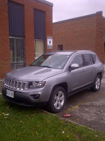 2015 Jeep Compass High Altitude in Mississauga, Ontario