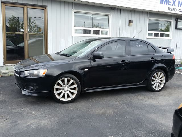 2008 mitsubishi lancer gts ottawa ontario used car for. Black Bedroom Furniture Sets. Home Design Ideas