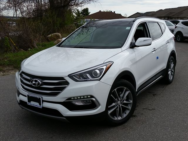 2017 hyundai santa fe limited 2 0t awd demo 6 yr 200 000km warranty 3000 off orillia. Black Bedroom Furniture Sets. Home Design Ideas