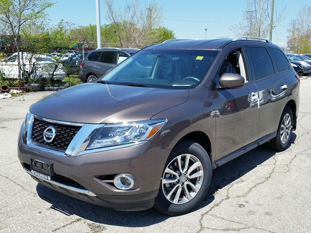 2016 nissan pathfinder sv brown sherway nissan new car. Black Bedroom Furniture Sets. Home Design Ideas
