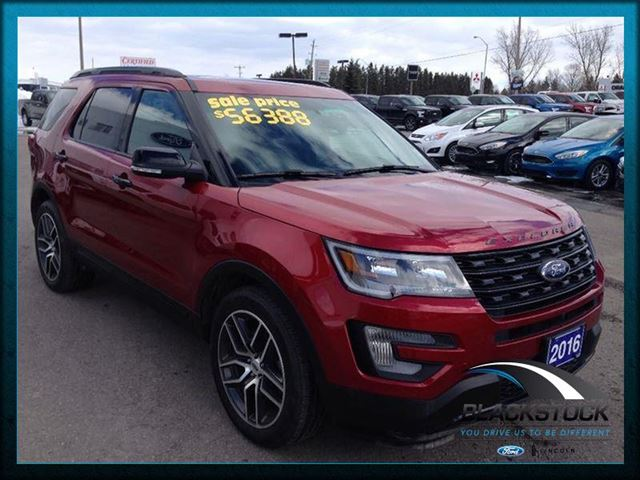 2016 ford explorer sport orangeville ontario car for sale 2485778. Black Bedroom Furniture Sets. Home Design Ideas