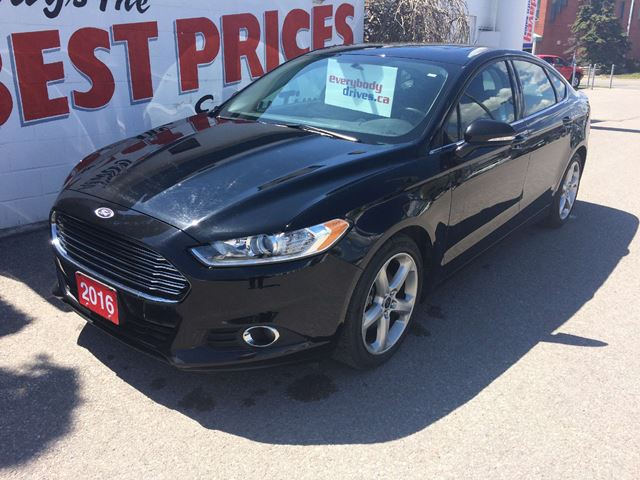 Ford Dealership Scarborough >> 2016 Ford Fusion SE BACK UP CAMERA, BLUETOOTH, ALLOY WHEELS Black | DAVEY AUTO SALES | Wheels.ca