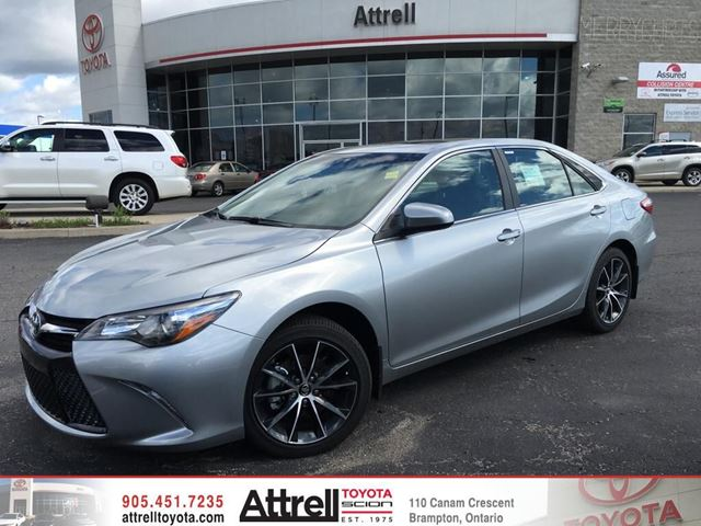 2016 toyota camry silver celestial silver metallic attrell toyota. Black Bedroom Furniture Sets. Home Design Ideas