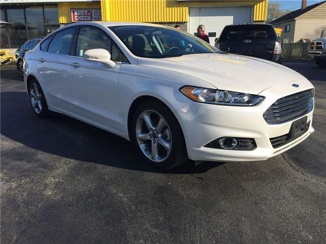 2016 ford fusion se north bay ontario used car for sale 2485275. Black Bedroom Furniture Sets. Home Design Ideas