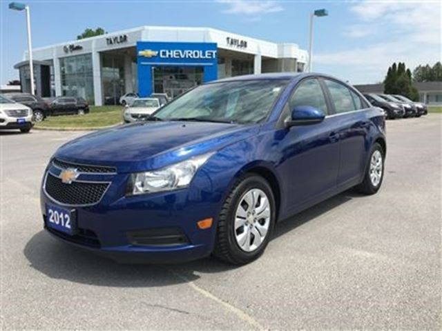 2012 chevrolet cruze lt turbo w 1sa blue jerome d taylor. Black Bedroom Furniture Sets. Home Design Ideas