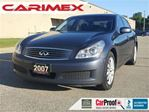 2007 Infiniti G35 CERTIFIED + E-Tested in Kitchener, Ontario