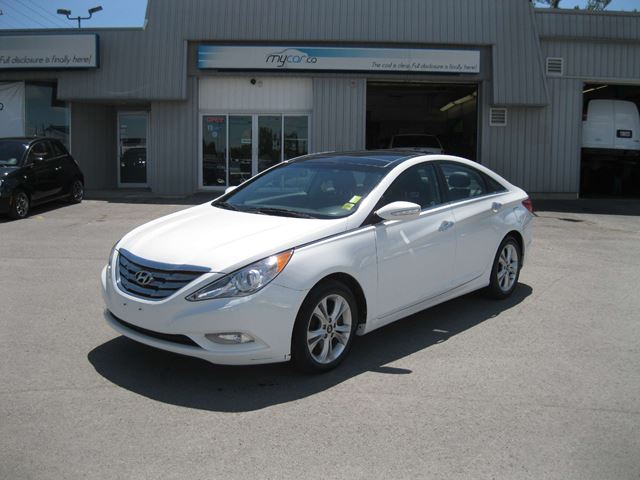 2012 hyundai sonata limited white my car kingston. Black Bedroom Furniture Sets. Home Design Ideas