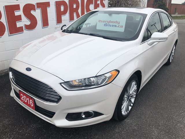 2016 ford fusion se white davey auto sales. Black Bedroom Furniture Sets. Home Design Ideas