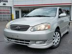 2003 Toyota Corolla Sport | AM/FM Stereo Compact Disc, 6 Speakers, Roof Mounted Antenna, Leather Wrapped Steering Wheel, Keyless Entry, Tinted Glass    in Mississauga, Ontario