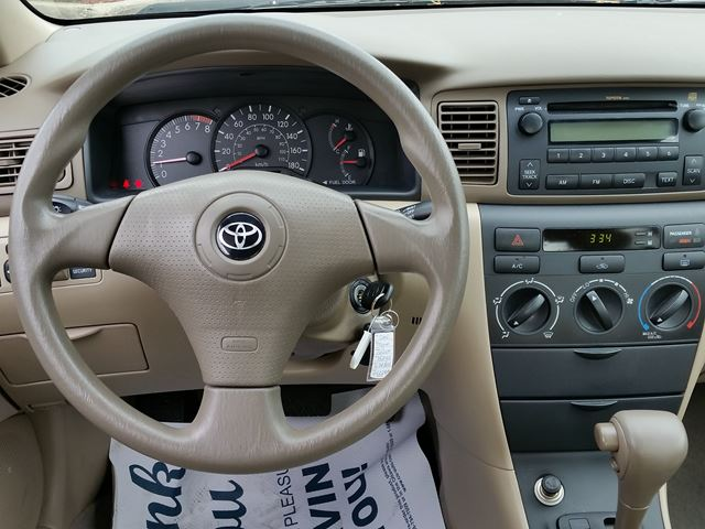 used 2006 toyota corolla ce am fm stereo compact disc title display digit. Black Bedroom Furniture Sets. Home Design Ideas