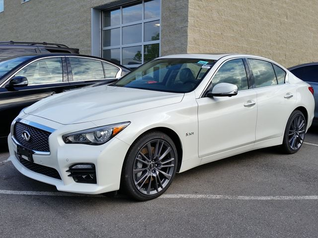 2016 infiniti q50 s white woodchester nissan and. Black Bedroom Furniture Sets. Home Design Ideas