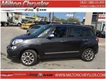 2015 Fiat 500L LOUNGE NAVIGATION  LEATHER PANORAMIC ROOF BACK-UP in Milton, Ontario