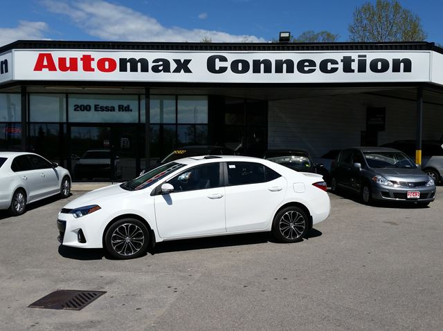 2014 TOYOTA Corolla S in Barrie, Ontario