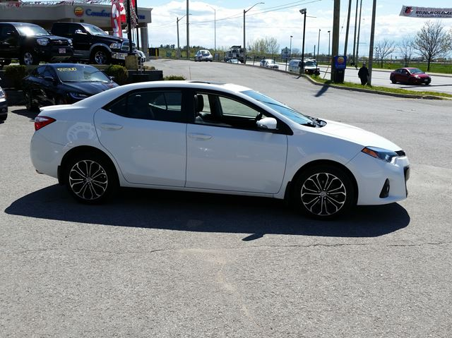 used 2014 toyota corolla s barrie. Black Bedroom Furniture Sets. Home Design Ideas