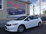 2012 Honda Civic LX, AUTOMATIC, BLUETOOTH, P. GROUP, LOADED! ONLY 44KM! $0 DOWN $99 BI-WEEKLY! in Ottawa, Ontario